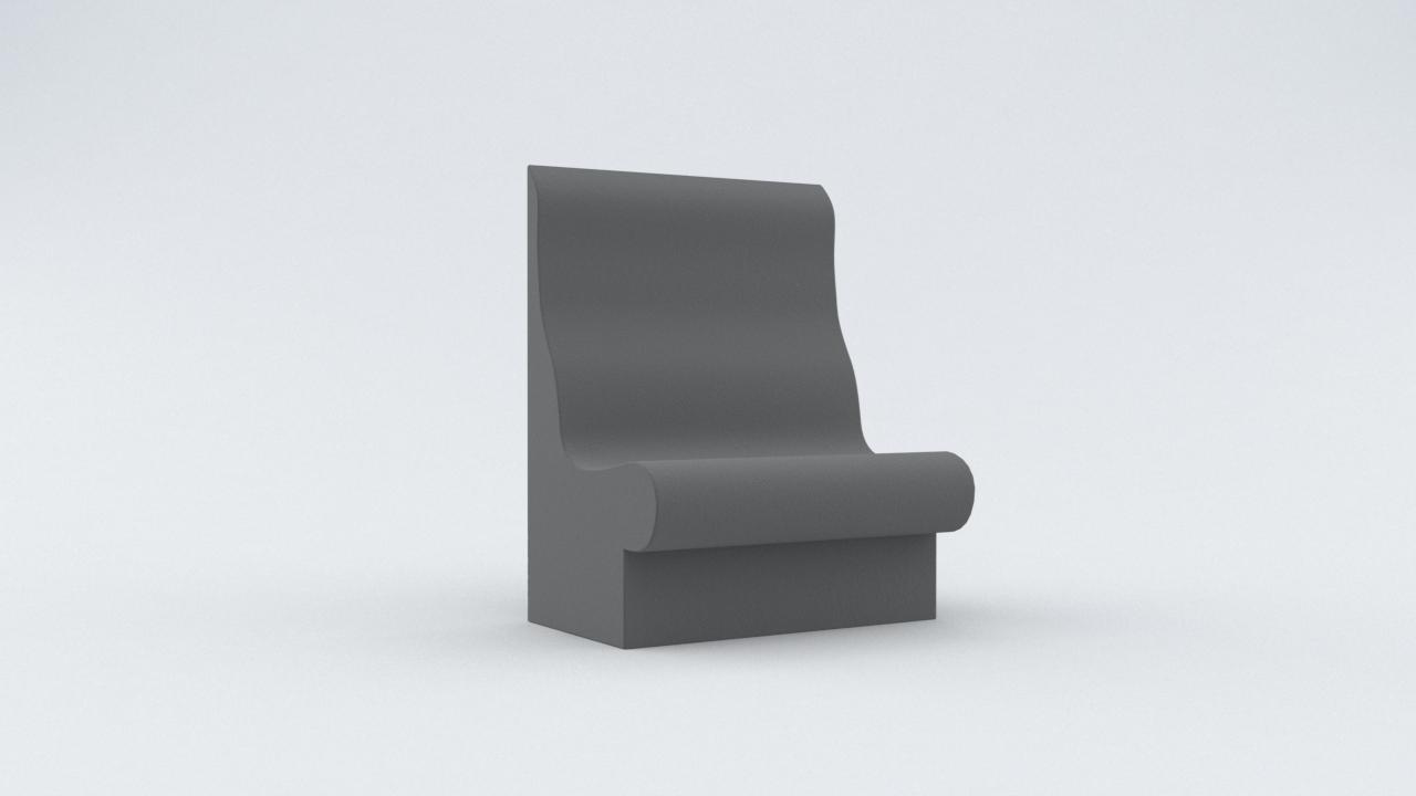 Duschsitz T75 Dampfbadsitz