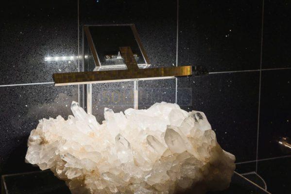 beleuchteter Kristall