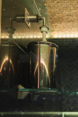 Solenebler im Dampfbad