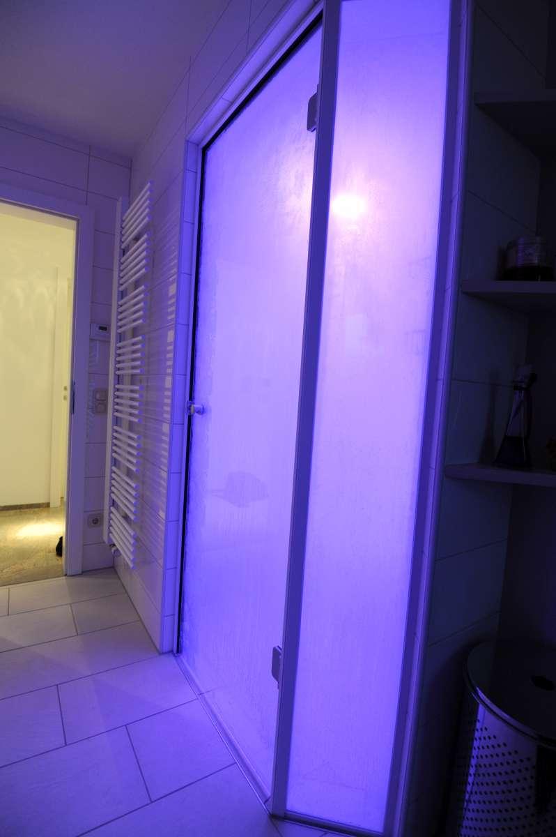 Dampfbad im Badezimmer