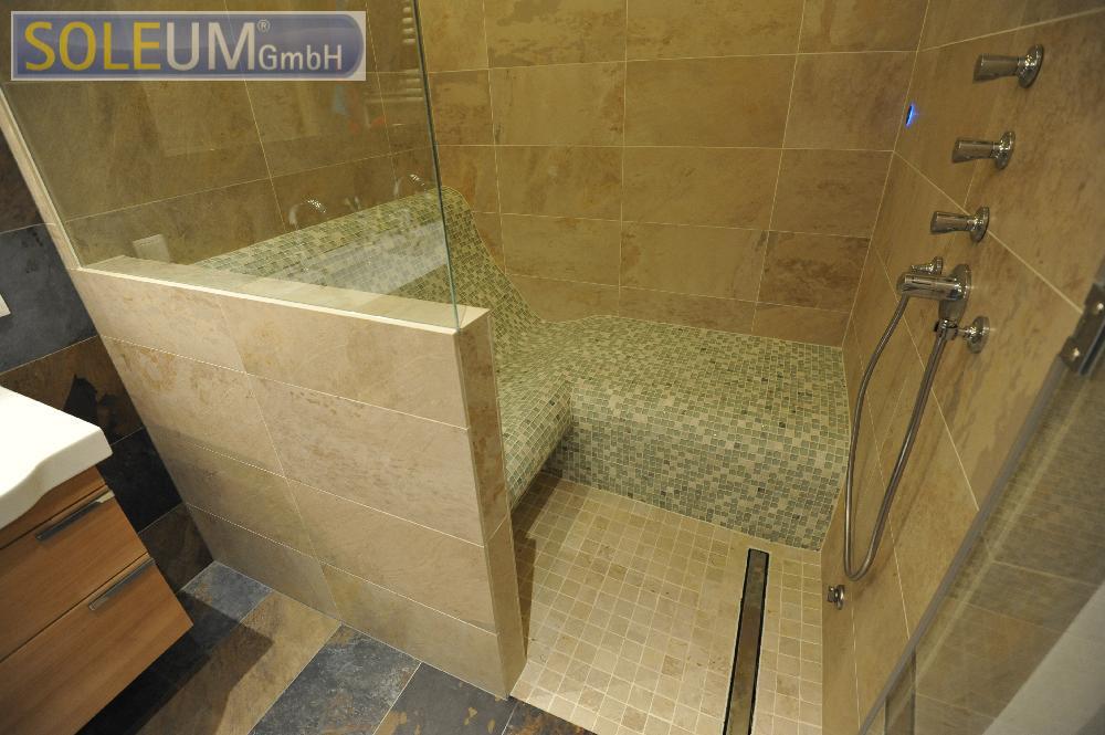 dampfbad mit sitzbank dampfbad und dampfbadbau. Black Bedroom Furniture Sets. Home Design Ideas