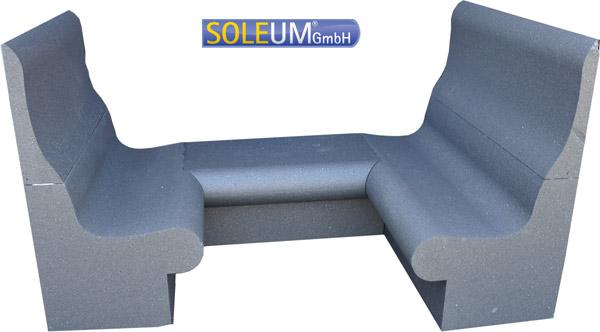Dampfdusche T65 Sitzbankkombination