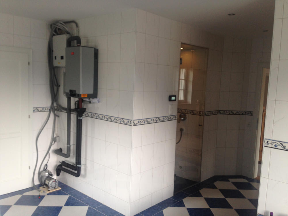 Dampftechnik gegenüber Dampfbad
