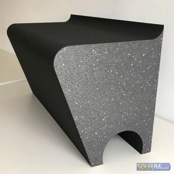 befliesbarer Duschsitz aus EPS