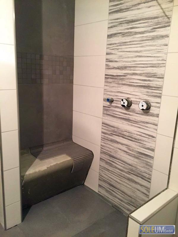 Duschsitz zum Befliesen