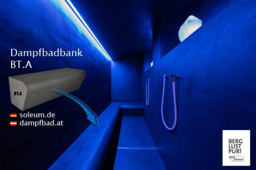 BT.A Dampfbadbank im Hotel Gassner