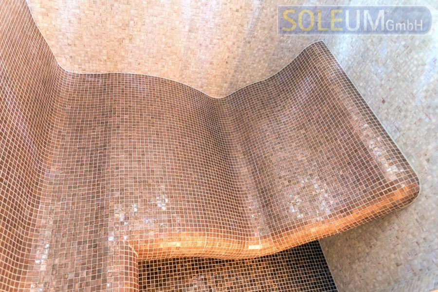 Infrarotliege SWING im Dampfbad