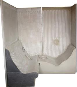Soleum - vorproduzierte Dampfkabine - Bausatz