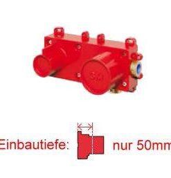 Edelstahl Handbrause SOLEUM-TREE-INOX